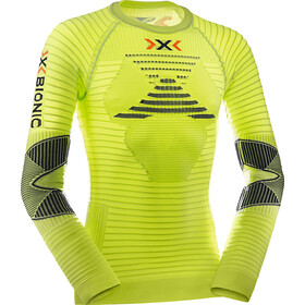 X-Bionic M's Effektor Power Running Shirt LS Green Lime/Black
